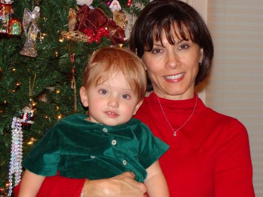 Me and my Tootsie on Christmas Eve