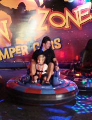 That's me and my dad.  This ride was so cool!!